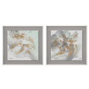 Cuadro Pintura en DM Abstracto 4 x 40 x 40 cm