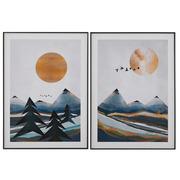Cuadro Impresión Montañas 4 x 50 x 70 cm