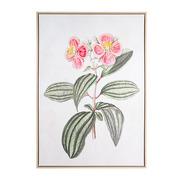 Cuadro Flores Rosa en Lienzo 4 x 75 x 105 cm