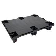 Palet Plástico Superficie Cerrada 6 Tacos 800 x 600 Ref.6080L16-07015010