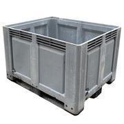 Contenedor Plastico Usado 3 Patines 100 x 120 x 79 cm