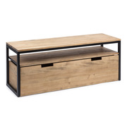 Mueble de TV Sostenible iCub Three con Estante y Cajón Extraíble Doble