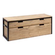 Mueble de TV iCub Three con Cajón Superior y Cajón Extraíble Doble