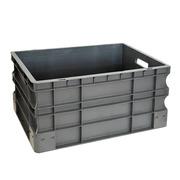 Caja de Plástico Gris Eurobox 40 x 60 x 33 cm Ref.SPK 4632