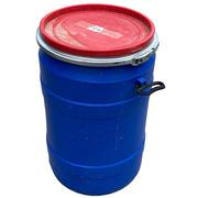 Bidón Azul Usado de Plástico 80 litros