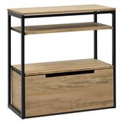 Mueble Multiusos Industrial ECO Estantes y Cajón Inferior