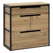 Mueble Multiusos ECO Industrial Cajón Superior y Cajón con Puertas