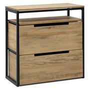 Mueble Multiusos ECO Industrial Estante Cajón Medio y Cajón Inferior