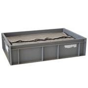 Caja Euro Box Usada Cerrada con Casilleros 40 x 60 x 15 cm