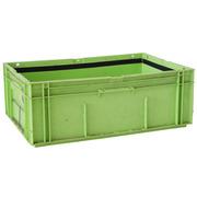 Caja Plástica Usada Galia Odette Verde 39 litros Cerrada 40 x 60 x 21,4 cm