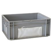 Caja Euro Box Usada Cerrada con Casillero 30 x 40 x 17 cm