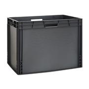 Caja Plástica Gris Eurobox  Lisa 40 x 60 x 45 cm Ref.SPK 6044