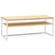 Mueble de TV iCub Three con Estante Blanco Natural