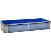 Caja Plástica Usada Doble 40 x 100 x 18 cm