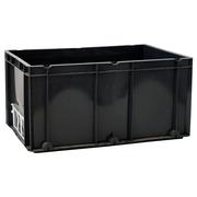 Caja Plástica Gris  40 x 60 x 30 cm