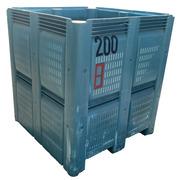 Contenedor Plástico Rejillado MacroBin 48 Usado 122,24 x 122,24 x 133,35 cm