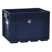 Caja Plástica Usada Cerrada 40 x 30 x 28 cm VDA R-KLT