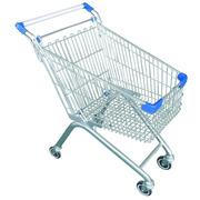 Carro Supermercado 80 litros Ruedas Giratorias