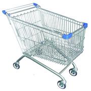 Carro Supermercado 180 litros Ruedas Giratorias