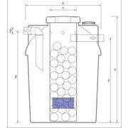 Depuradora Compacta 2 Compartimentos