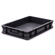 Caja Plástica Base y Paredes Sólida 40 x 60 x 10 cm