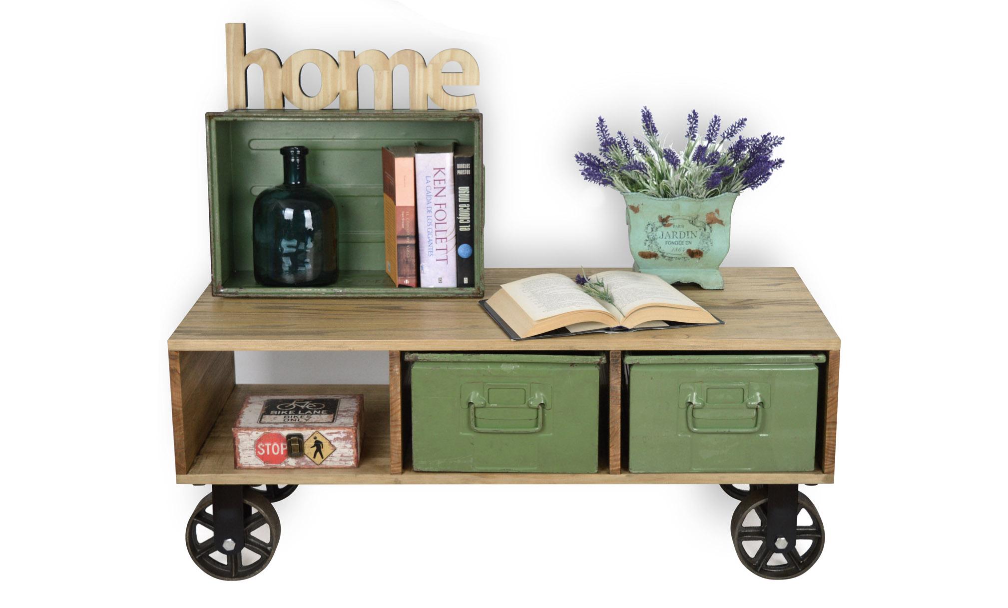 Muebles vintage de madera y metal productos y colecciones for Muebles para colecciones