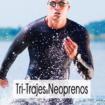 Tri-Trajes y Neoprenos para Triatlon, Natación y Deportes Acuaticos Extremos